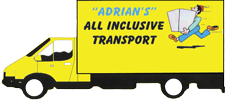 Adrians All Inclusive Transport Logo